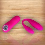 Wireless Remote Controlled Curved Intimate G Spot Vibrator for Couples 6 - wowgasmic