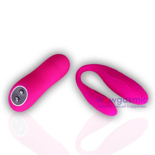 Wireless Remote Controlled Curved Intimate G Spot Vibrator for Couples 8 - wowgasmic