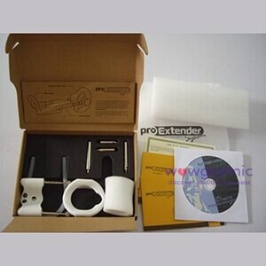 Photo of the pro extender kit system machine in its packaging - wowgasmic sex toys in Kenya for Sale