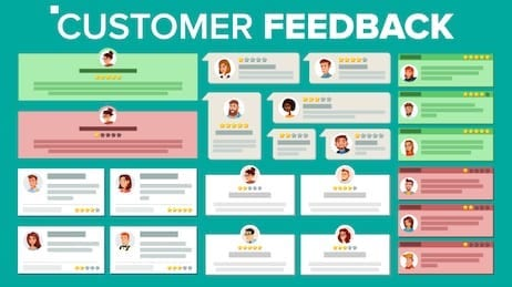 Customer Feedback on Product and Site Reviews
